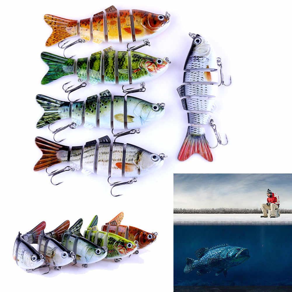 30 ^ 6 Segment Swimbait Lures เหยื่อ Crank เหยื่อตกปลาเหยื่อตกปลา