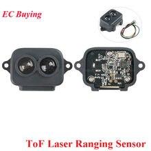 Tf-luna tof laser variando sensor módulo 8 m distância sensor de comunicação lidar uart i2c iic 8 metros