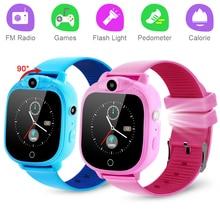 Детские Смарт-часы програace детская камера игрушка для девочек смарт-часы детские игровые часы цифровые наручные часы спортивные часы детс...
