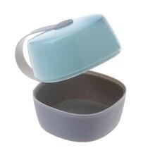 Портативный для малышей детские соски-пустышки держатель, чехол для соски на кроватку дорожная коробка для хранения