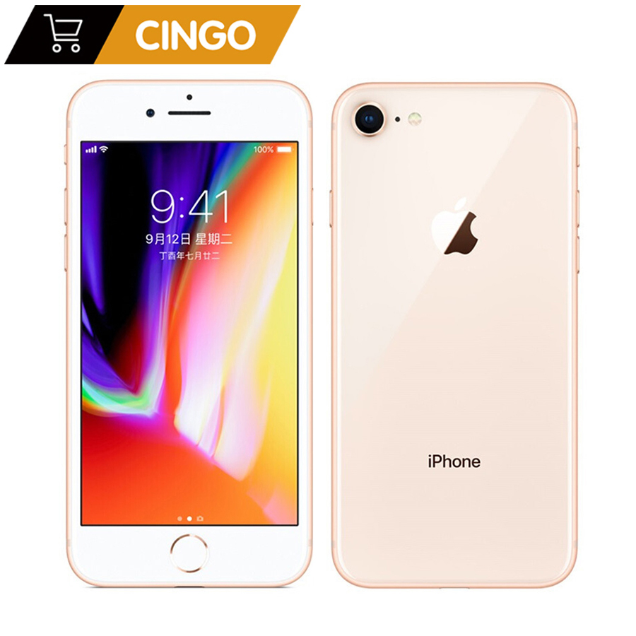 Original Apple iPhone 8 2GB RAM 64GB/256GB Hexa-core IOS 3D Touch ID 1821mAh 12.0MP Camera 4.7