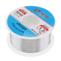 Welding Wire 0.5/0.6/0.8/1/1.2/1.5/2.0mm Solder Wire 100g 63/37 FLUX 2.0% Tin for Soldering Lead Free Solder for Aluminum Hot