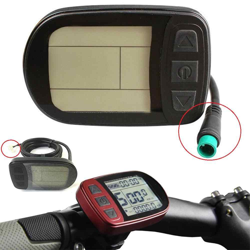 Scooter LED Display For KT Controller Panel E-bike KT-LCD5 Meter Speed Monitor