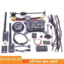 Pixhawk contrôleur de vol PX4 PIX 2.4.8 32 Bit, interrupteur de sécurité 4G SD, Buzzer M8N, Mini OSD, PPM RGB I2C 433 / 915 mw, télémétrie