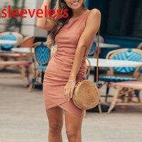 sleeveless orange