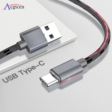 2.4A USB Type C Cable Fast Charging Type C USB Cable For Samsung S9 S8 Plus Note 9 8 Huawei Xiaomi Redmi Note 7 USB C Data Cord