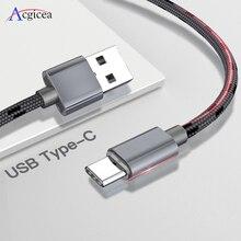 2.4A USB Type C Fast CHARGING Type C สาย USB สำหรับ Samsung S9 S8 PLUS หมายเหตุ 9 8 huawei Xiaomi Redmi หมายเหตุ 7 USB C ข้อมูล