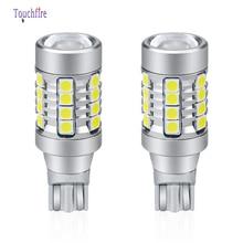 2 adet/grup T15 W16W 3030 28smd Canbus 6000K beyaz süper parlak 1800LM Led araba ampul otomatik lamba ters ışık 10 30V