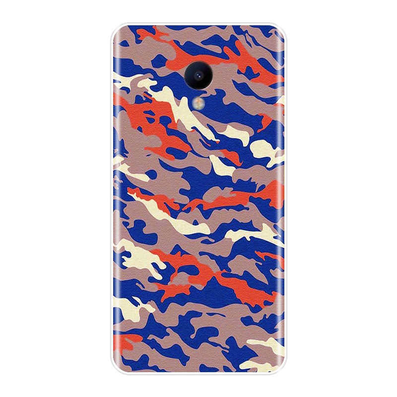 Coque de téléphone En Silicone Pour Meizu M2 M3 M3S M5 M5C M5S M6 M6S M6T Couverture Arrière Souple Camouflage Militaire Camo Meizu M2 M3 M5 M6 Note