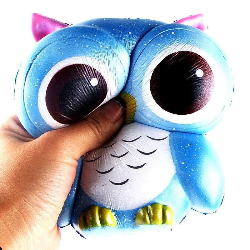 Squishy Slow Springback Will Owl 13.5cm 14.5 * Children Decompression Toys