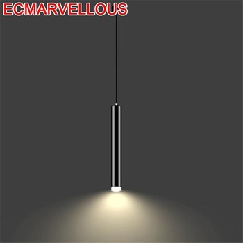 Hang Lampara De Techo Colgante Moderna Touw Industrial Crystal Deco Maison Hanging Lamp Loft Luminaire Suspendu Pendant Light