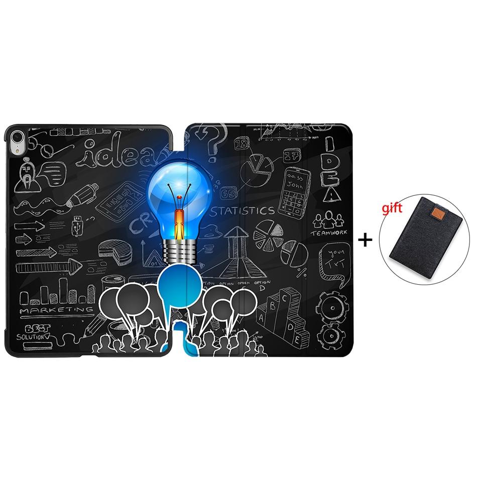 IP08 Purple MTT Tablet Case For iPad Air 4th Generation 10 9 inch 2020 PU Leather Folio Flip