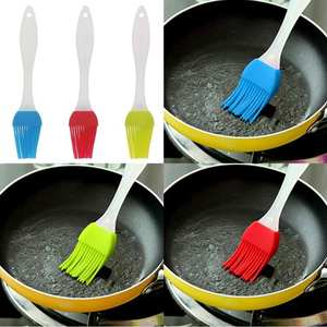 Cake-Oil-Brush BBQ Silicone Kitchenware Bbq-Butter-Tool Basting Baking Heat-Resistant