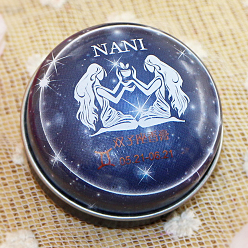 Solid Perfume Portable Skin Care Long-lasting Women Men 12 Signs Charm Essential Oil Body Romantic Deodorant Non-alcoholic Balm 1