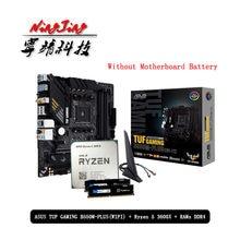 Procesador AMD Ryzen R5 3600X, placa base para juegos ASUS TUF B550M PLUS (WI-FI) + Pumeitou DDR4 8G 16G, conector AM4 sin ventilador
