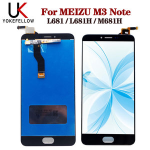 Image 1 - LCD Display For Meizu M3 note L681 L681H M681h LCD Display Digitizer Screen Complete Assembly For Meizu M3 note Display LCD
