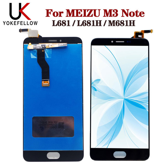 LCD Display For Meizu M3 note L681 L681H M681h LCD Display Digitizer Screen Complete Assembly For Meizu M3 note Display LCD
