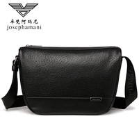 Men genuine leather shoulder bag High end JOSEPHAMANI Brand British style messenger bag New Head layer cow bag