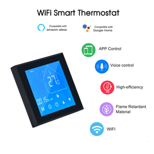 Image 2 - WiFi חכם תרמוסטט טמפרטורת בקר LCD תצוגת שבוע לתכנות עבור מים/גז הדוד Ewelink עבור Alexa Google בית