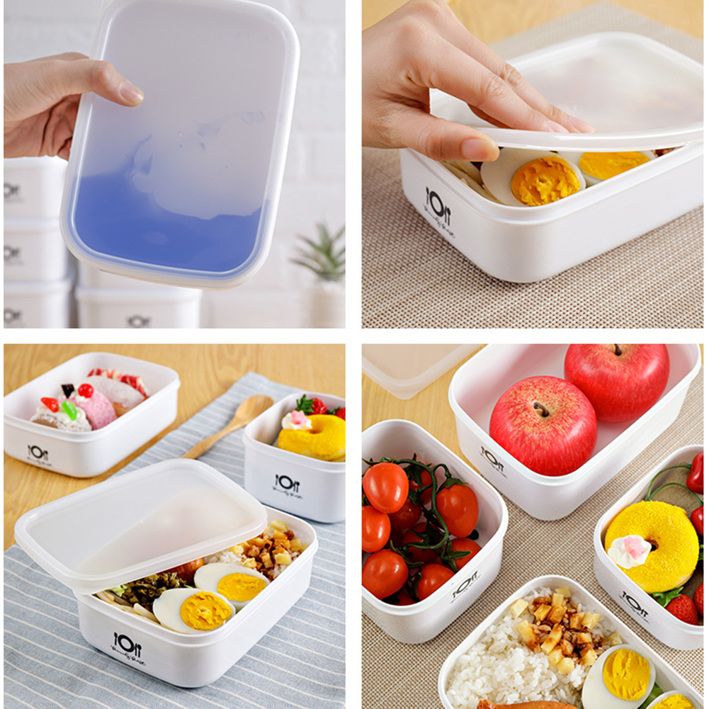 700/900/1000/1400ml Portable Healthy Material Lunch Box Wheat Straw Bento Box Microwave Dinnerware Food Storage Container Box