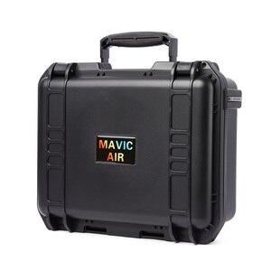 Image 5 - Schowek walizka wodoodporny futerał Hardshell torba dla DJI Mavic Air sterownik baterii linia danych akcesoria do dronów