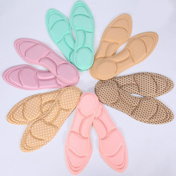 5D Flock Memory Foam Orthotic Insole Arch Support Flat Foot Feet Care Sole Shoe Orthopedic Pads Breathable Insoles For Shoes