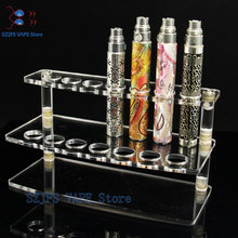 Electronic Cigarette Pen Pencil Clear Display Holder Stand New Storage Rack for  EGO CE4 ce5 Kits  Evod Ego Battery Vape Kit ce4 ce4 plus atomizer clearomizer 1 6ml tank 5pcs replacement coil heads for ego ego t evod vision vape pen 510 thread mt3 h2