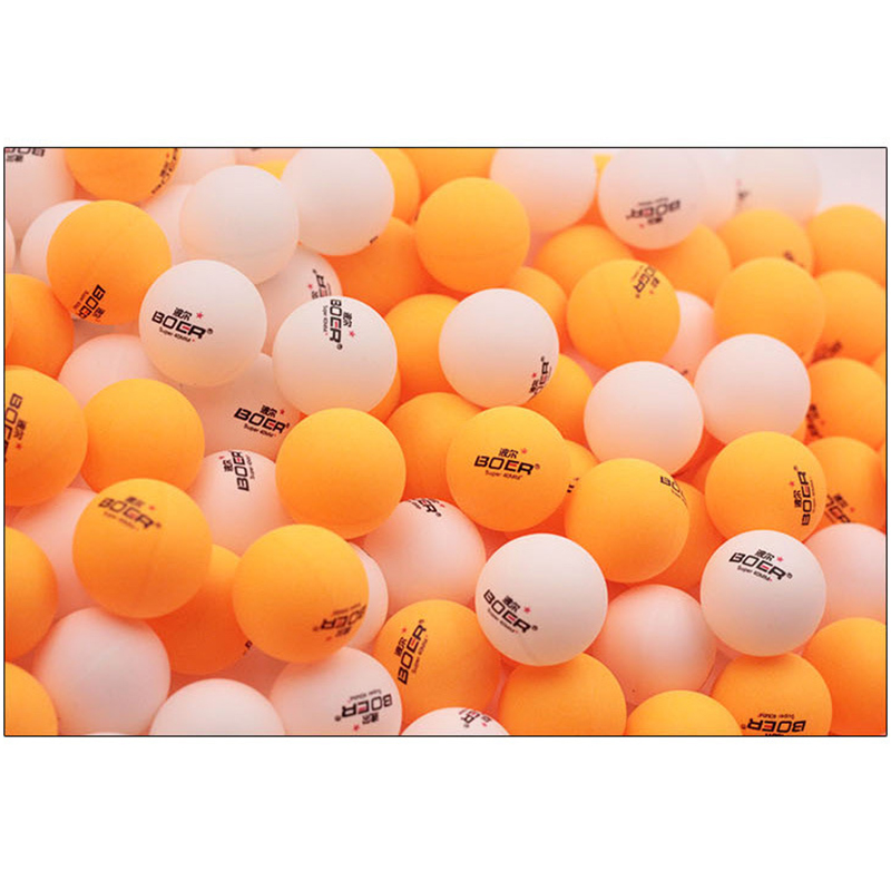 150pcs/pack 1-Star Professional 40mm 2.8g Table Tennis Ping Pong Ball White Orange Amateur Advanced Training Competition Ball