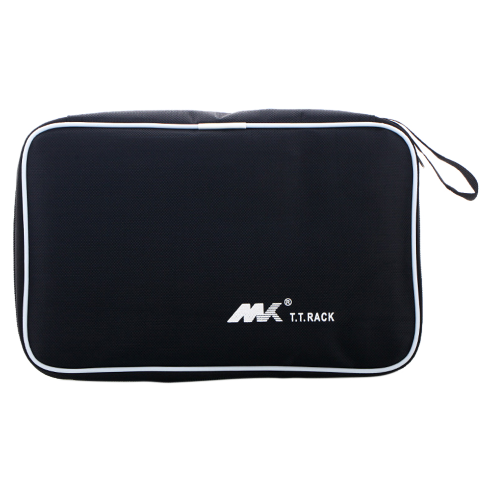Sports Portable Handle Table Tennis Dustproof Cover Durable Oxford Cloth Racket Storage Bag Practical Accessories Zipper Closure