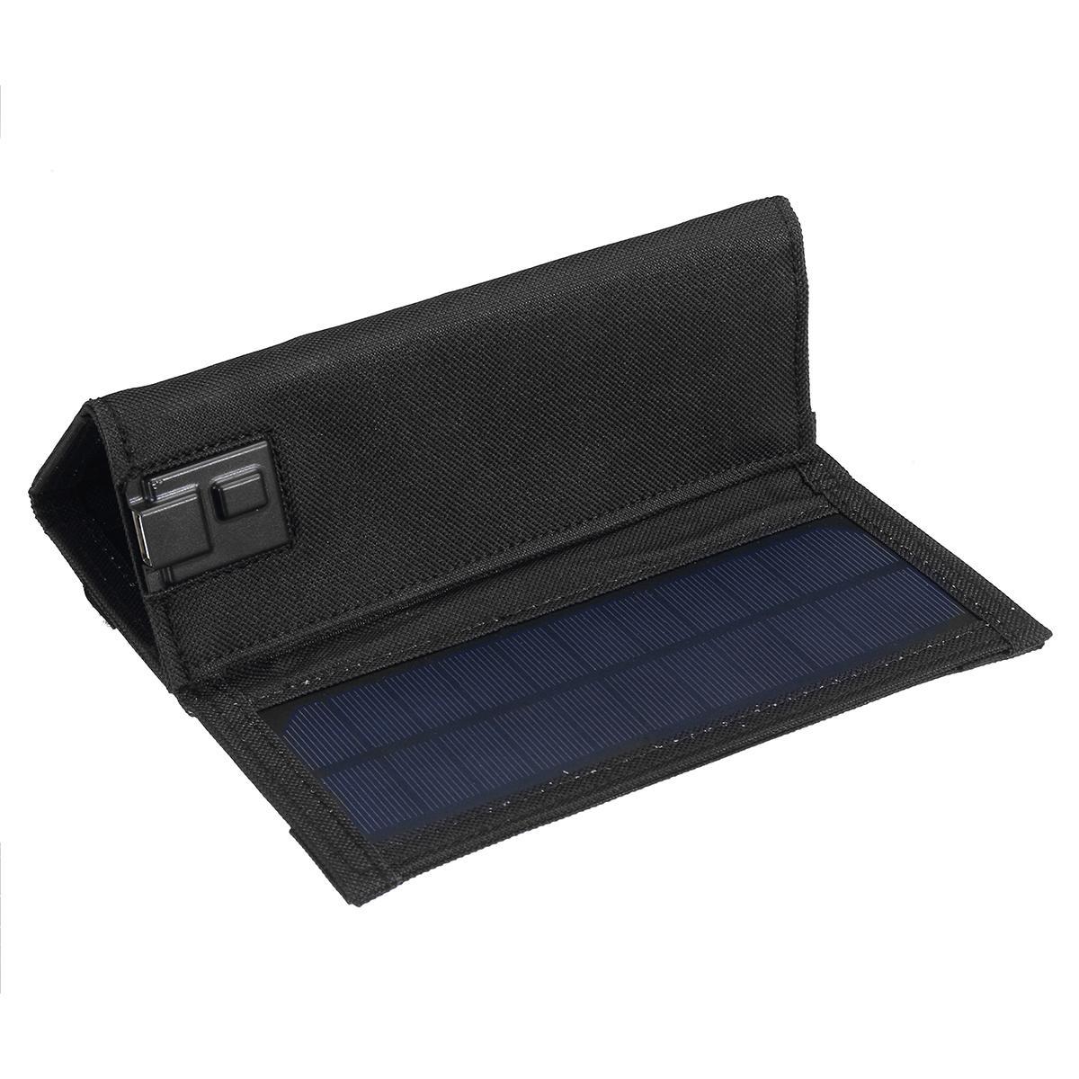 cabo usb carregador solar portátil para o telefone acampamento