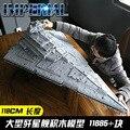 Star Giocattoli Guerre 13135 11885Pcs Mattoni Imperiale Destroyer Set MOC-23556 Modello Kit Compatibile 75252 Building Blocks Regali di Nuovo Anno