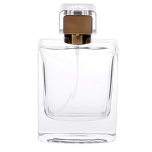 цена на 100ml Perfume Spray Bottle Portable Rectangle Atomizer Refillable Glass Perfume Sprayer for Travel Coffee Color