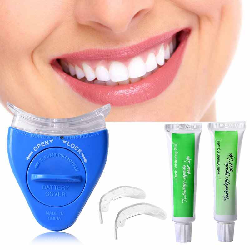 White Light Teeth Whitening Tooth Gel Whitener Health Oral Care