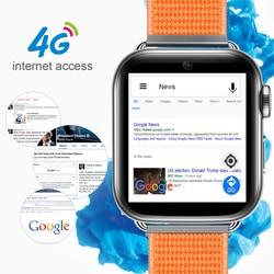 4G Smart Uhr Android 7,1 1,88 Zoll 360*320 Bildschirm 3GB + 32GB GPS WIFI 780mah Große Batterie Smartwatch Telefon