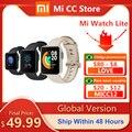 Глобальная версия Xiaomi Mi band часы Lite GPS браслет для занятий спортом пульсометр спортивный браслет 1,4 дюймов Bluetooth 5,0 Смарт-часы