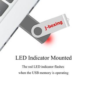 Image 5 - J boxing USB Flash Drives 1GB 2GB Thumb Drive 4GB 8GB Metal Swivel Pendrive 16GB 32GB USB 2.0 Memory Stick for PC 5PCS/Lot Grey