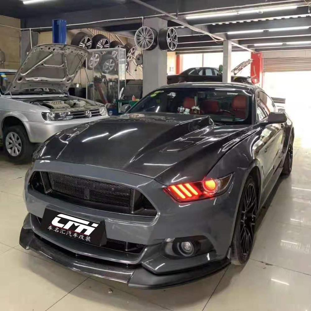 New Front ENGINE UNDER COVER For Ford Mustang