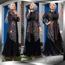 Ramadan Aid Eid Mubarak Abaya Kimono Mujer Cardigan Hijab Musulmano Dress Turco Islam Abbigliamento Abaya Per Le Donne Caftano Robe Dubai