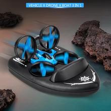 3 in 1 RC Drone Land Convenient Practical User-friendly Design Water Air