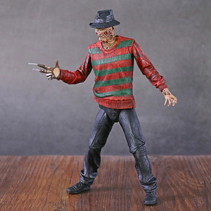 "Image 2 - NECA Nightmare On Elm Street Freddy Krueger 30th PVC Action Figureของเล่นสะสม7 ""18ซม"