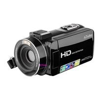Camcorder, Digital Video Camera Full Hd 1080P 24.0Mp 3.0 Inch Lcd 270 Degrees Ro