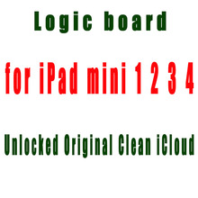 A1432 A1489 A1599 A1538 Clean iCloud Wifi Version Unlocked logic main boards for ipad MINI 1 2 3 4 Motherboard