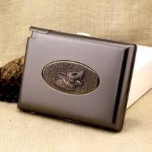 Автоматическая сигаретная коробка против давления для курения