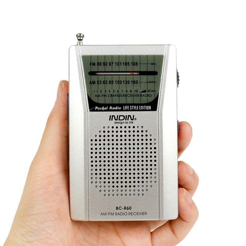 Portable Pocket Digital Radio AM/FM Stereo Built In Speaker Universal Telescopic Antenna Mini World Receiver R60 High Quality