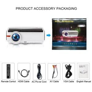 Image 4 - Caiwei A9/A9AB 스마트 LED 지원 1080p 프로젝터 홈 시네마 풀 HD 비디오 모바일 비머 안드로이드 와이파이 블루투스 hdmi VGA AV USB