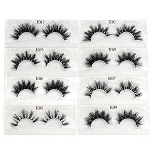 Image 3 - AMAOLASH Eyelashes Mink Eyelashes Thick Natural Long False Eyelashes 3D Mink Lashes High Volume Soft Dramatic Eye Lashes Makeup
