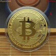 5 видов стилей Биткоин Виртуальная валюта забавные Коллекционная монета Биткоин пиратские сокровища в виде монет реквизит игрушки для Хэлл...