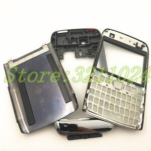 Image 2 - نوعية جيدة الأصلي الكامل كاملة الهاتف المحمول بطارية مبيت غطاء لعلامة نوكيا E71 + لوحة المفاتيح الإنجليزية + شعار