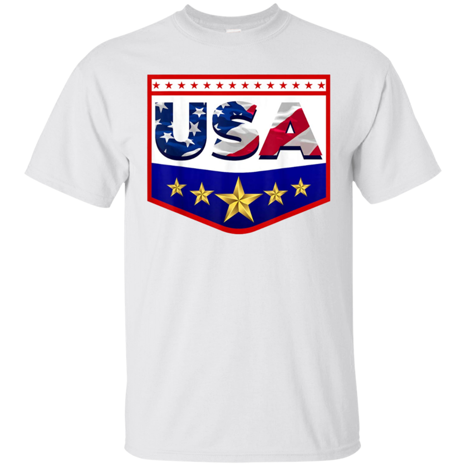 Patriotic USA American Flag T-Shirt