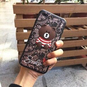 Чехол для телефона с кружевной вышивкой розы для Iphone X 8 7 6 6S Plus 5 5S чехлы для Iphone XR XS MAX 7Plus с ремешком